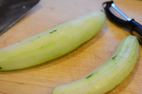 Naked cucumber