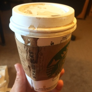 Don't even get me started about how ineffective Starbucks cup lids are against leaks.